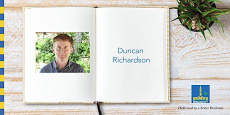 Meet Duncan Richardson - Garden City Library tickets