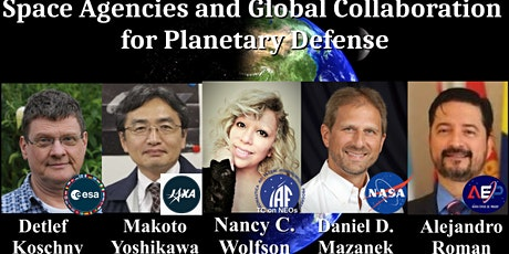 Space Agencies and Global Collaboration for Planetary Defense tickets