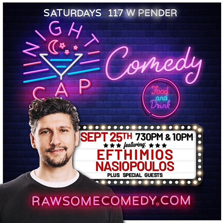 Nightcap Comedy   Live Stand up Comedy image