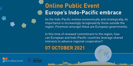 Europe's Indo-Pacific embrace: Global partnerships for regional resilience tickets