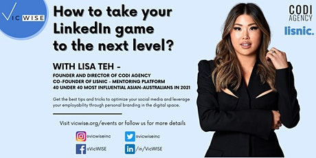 Take your LinkedIn game to the next level! tickets