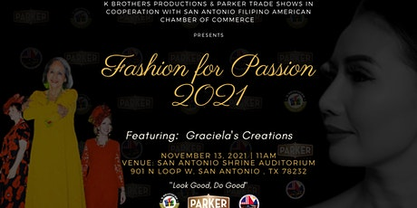 FASHION for PASSION 2021 tickets