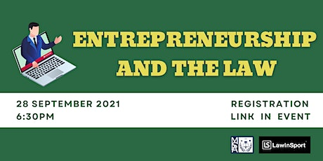 Entrepreneurship and the Law tickets