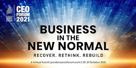 Perdana Leadership Foundation CEO Forum2021 tickets