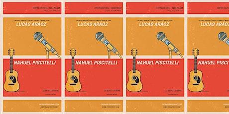 Lucas Aráoz | Nahuel Piscitelli entradas