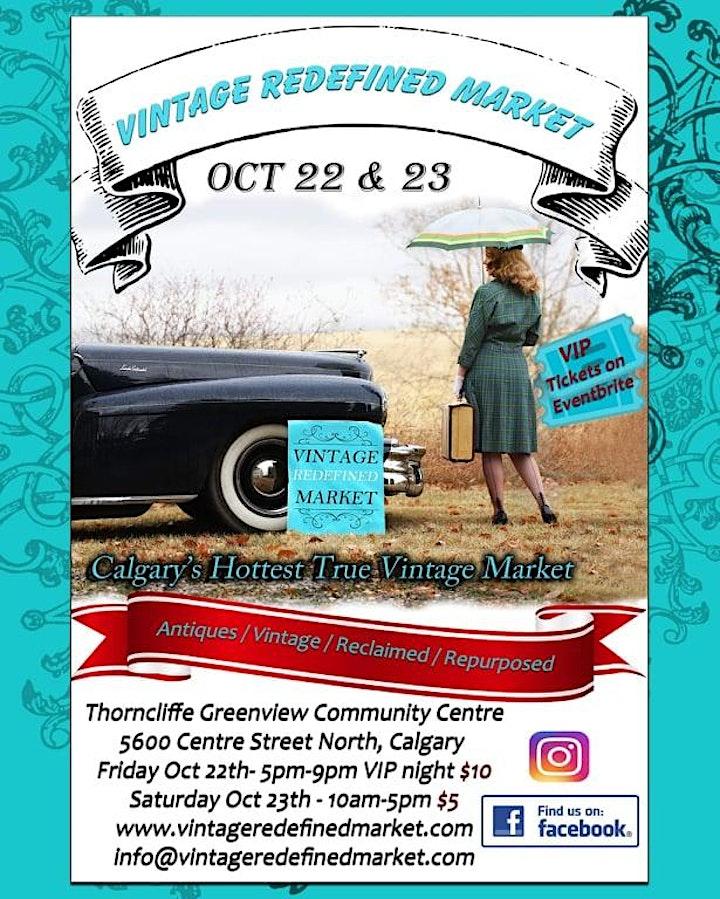 Vintage Redefined Market: Calgary's Hottest True Vintage Market! image
