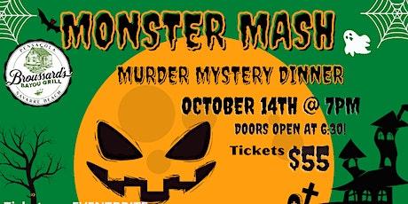 Murder Mystery Dinner at Broussard's Navarre Beach tickets