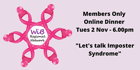 Women in Business Members Only Online dinner - Tuesday 2/11/2021 tickets