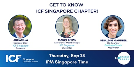 Get to Know ICF Singapore Chapter tickets