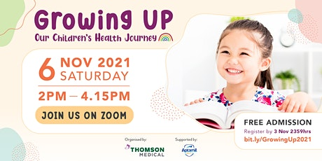 Growing Up: Our Children's Health Journey tickets