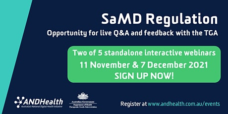SaMD Regulation with the Therapeutic Goods Admistration (TGA) tickets