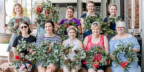 Christmas Wreath Workshop with Helena Rose & The Deli - Redcliffe tickets