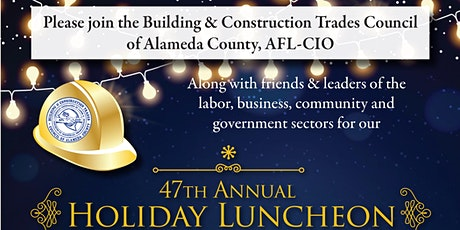 Alameda County's BCTC 47th Annual Holiday Luncheon - to benefit CTWI tickets