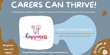 Happiness Habits tickets