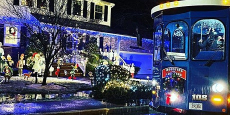 *6PM* South Shore Sights and Lights Holiday Trolley Tour - ADULTS ONLY BYOB tickets