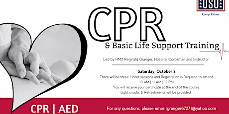 CPR & Basic Life Support Training tickets