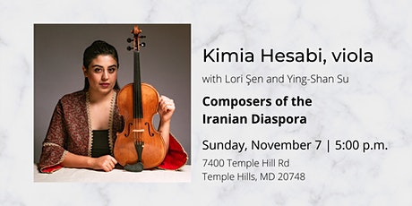 Kimia Hesabi: Composers of the Iranian Diaspora tickets