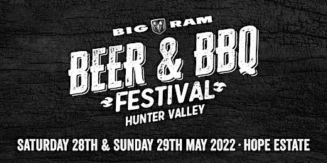 2022 Big RAM Beer & BBQ Festival,  Hunter Valley tickets
