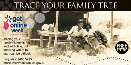 Get Online Week 2021 - Trace Your Family Tree @ Clarkson Library tickets