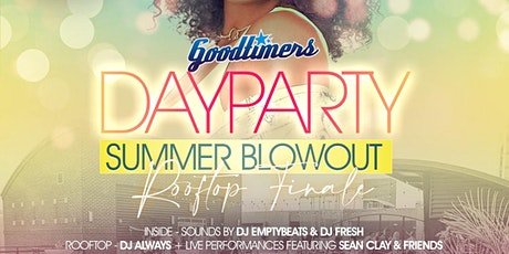 """Goodtimers """"SUMMER BLOWOUT"""" Day Party tickets"""