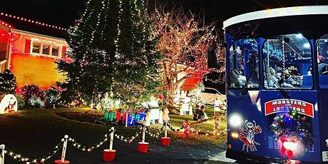 *7PM* South Shore Sights and Lights Holiday Trolley Tour - ADULTS ONLY BYOB tickets