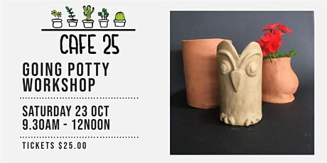 Going Potty  Workshop   Cafe 25 tickets