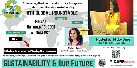 8th Global Roundtable | Roadmap To Sustainability tickets