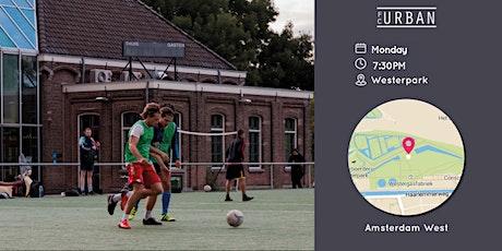 FC Urban Match AMS Ma 27 Sep Westerpark Match 2 tickets