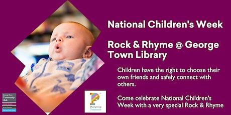 Children's Week Rock & Rhyme @ George Town Library tickets