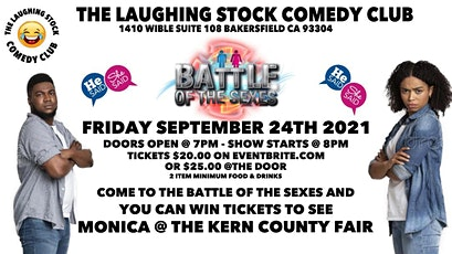 THE LAUGHING STOCK COMEDY CLUB PRESENTS THE BATTLE OF THE SEXES tickets