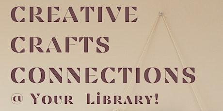 Creative Craft Connections - Crochet Basics - Bacchus Marsh tickets