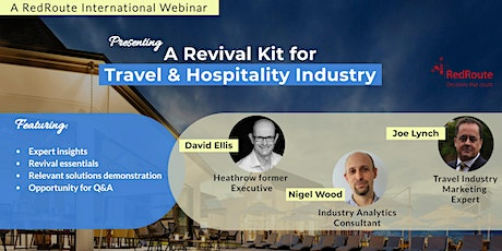 A Revival Kit for Travel & Hospitality Industry tickets