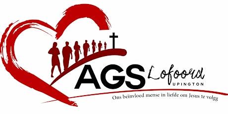 AGS Lofoord Upington Diens  Sondag om 18:30 Tickets