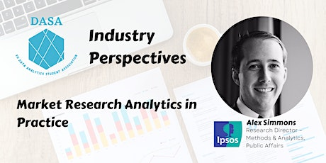 Market Research Analytics with Alex Simmons tickets