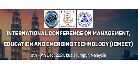 International conference on management, Education and Emerging Technology tickets