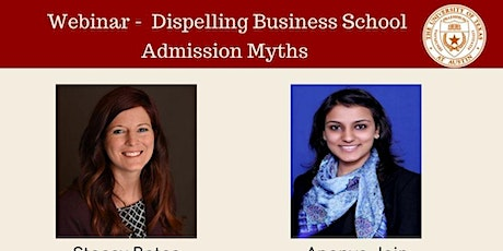 Dispelling Business School Admission Myths tickets