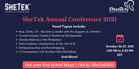 SHETEK ANNUAL CONFERENCE 2021 tickets
