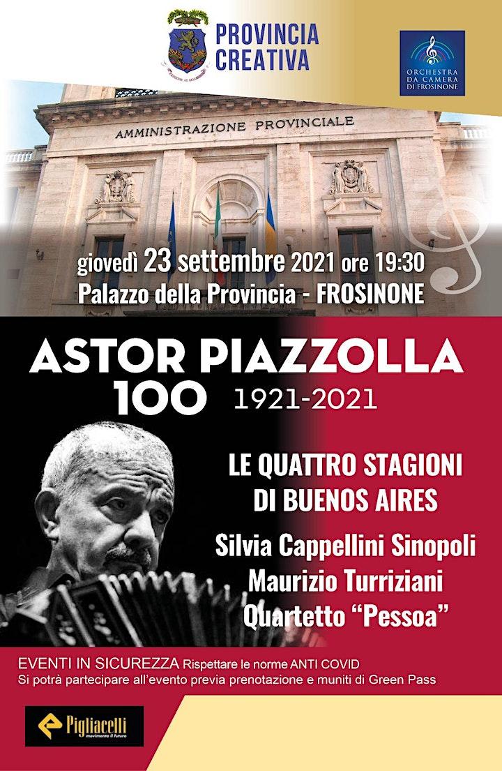 Immagine Astor Piazzolla 100  (1921-2021)