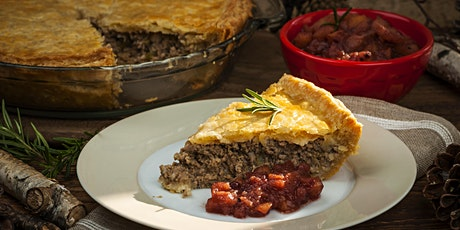 Tourtière with Duck Confit and Red Onion Relish tickets
