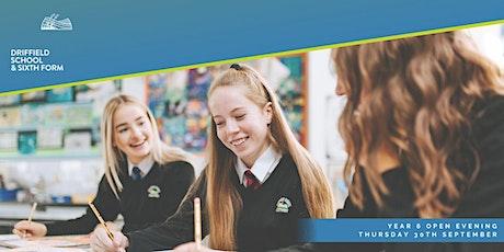 Driffield School - Year 6 Open Evening 2021 tickets