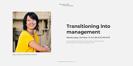 Transitioning into management tickets