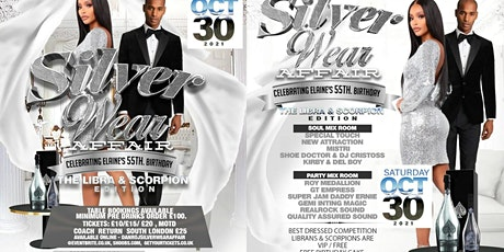 The Silver wear Affair tickets