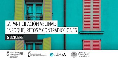 La participación vecinal: enfoque, retos y contradicciones. entradas