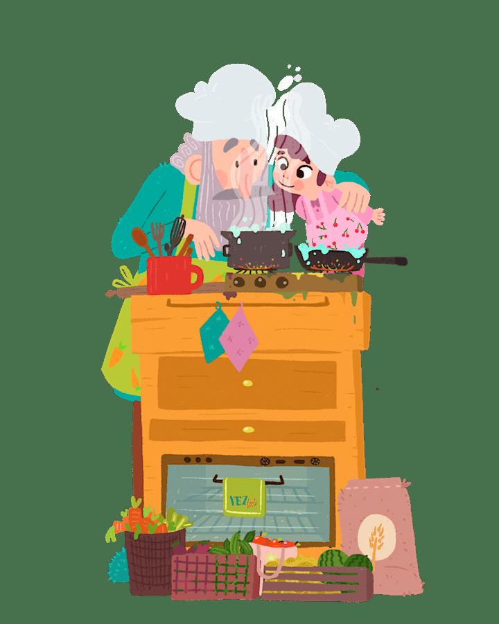 Immagine VEZLAB - Incontro #4 - Cucina, orti  e alimentazione