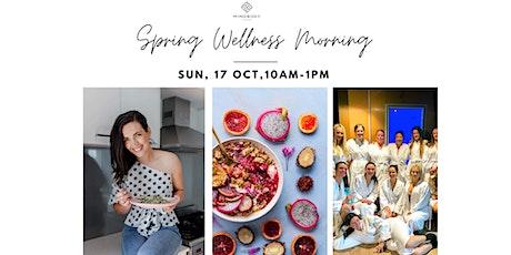Spring Wellness Morning tickets