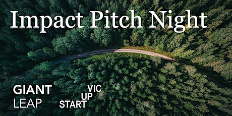 Startup Vic x Giant Leap: Impact Pitch Night Tickets
