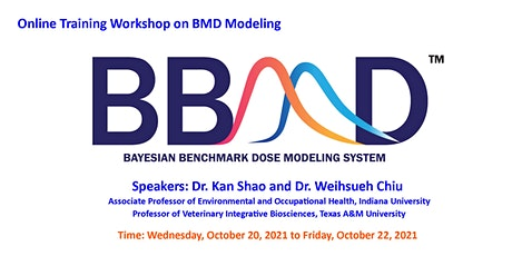 Training Workshop on Benchmark Dose Modeling using the BBMD System tickets