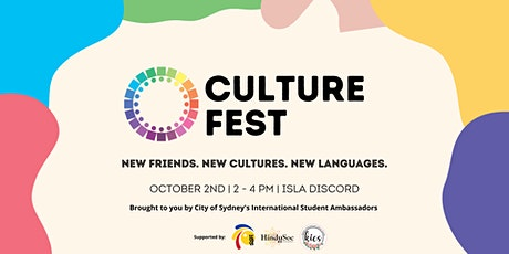 Culture Fest 2021 tickets