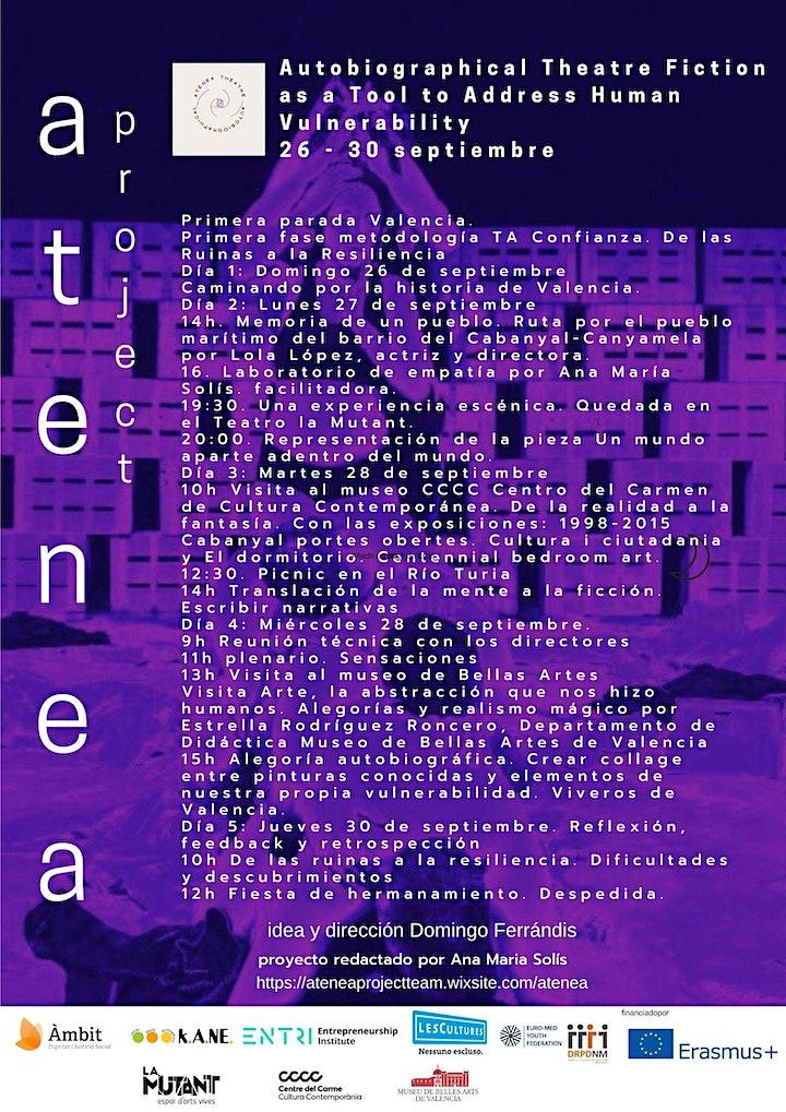 Imagen de Un Mundo Aparte Dentro del Mundo (ATENEA Erasmus+ project)
