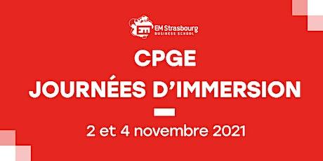 Journées immersion Prépas - EM Strasbourg tickets